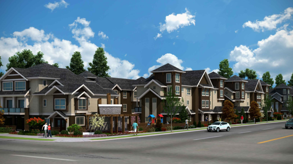 Multiple Unit Townhouse Development, Canada
